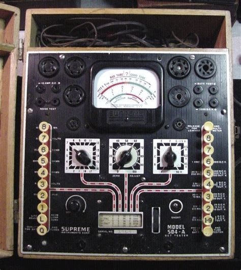 Supreme Instruments Tube Testers