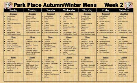 nursing home menu planning nursing home meal plan home plan