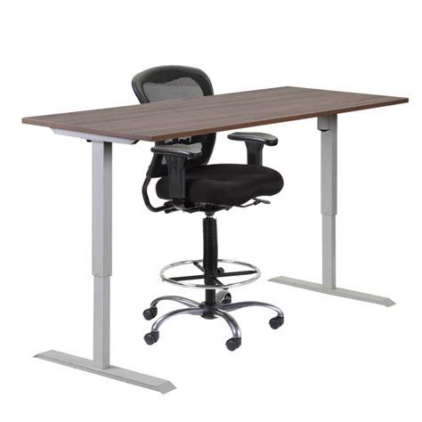 Adjustable Height Tables Bernards Office Furniture Adjustable Height Office Furniture