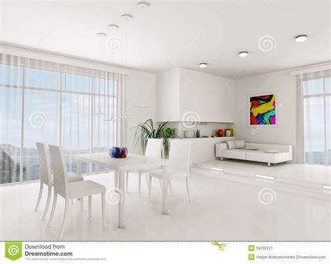 Wohnzimmer 3d by Wei 223 Es Wohnzimmer 3d 252 Bertragen Stockbild Bild 34707271