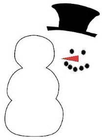 Snowman cut out template pattern block snowman template browse