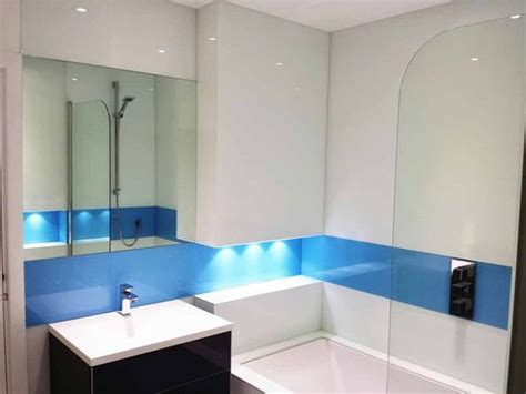 bathroom splashback ideas simply splashbacks bathroom glass splashbacks coloured