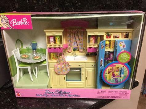 barbie home decor barbie decor collection kitchen playset barbie kitchen