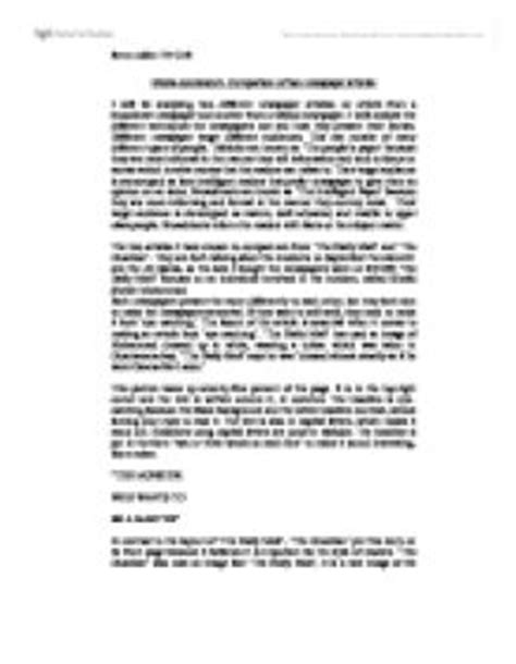 article layout template gcse comparison of two newspaper articles the two articles i