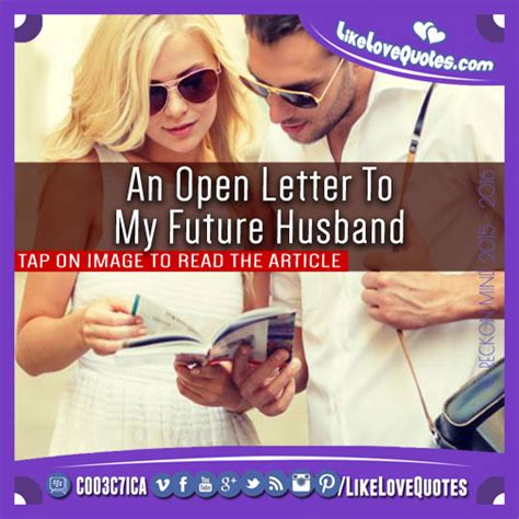 Commitment Letter To My Husband An Open Letter To My Future Husband Likelovequotes