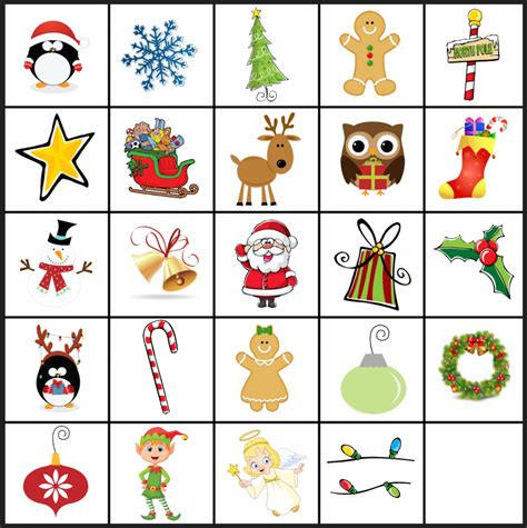 printable holiday bingo games free printable christmas games christmas matching game