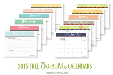 free downloadable 2015 calendar template 2015 free printable calendars crafting in the