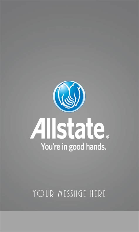 gray allstate business card design 201321