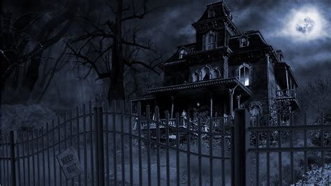 x haunted house haunted house wallpaper 1366x768
