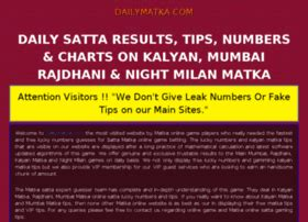 satta matka kalyan matka fastest matka results www sata number matka king at website informer