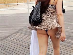 Wind blowing up women 39 s dresses car pictures
