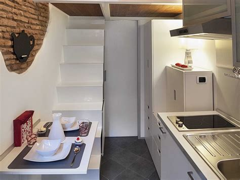 tiny house dining table dining table kitchen stairs tiny house in rome home