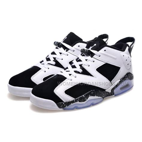 basketball shoes cheap price cheap price air 6 low oreo white black basketball
