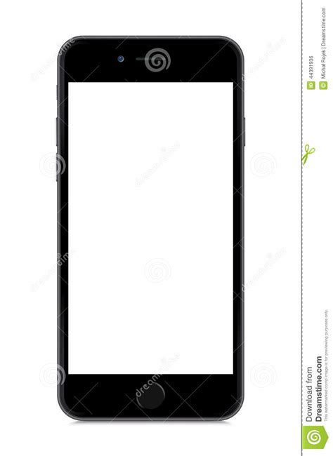 format video iphone 6 iphone 6 isolated on white editorial photo image 44391936