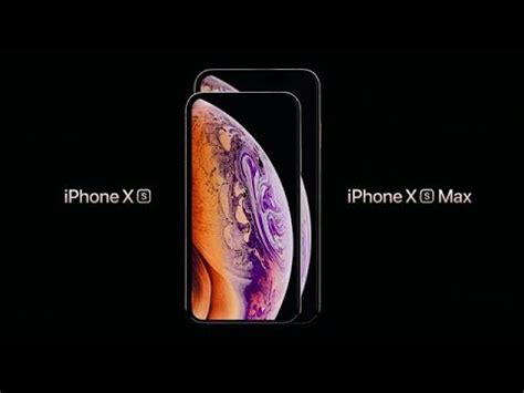 pub iphone xs pr 233 sentation des nouveaut 233 s de l iphone xs d apple