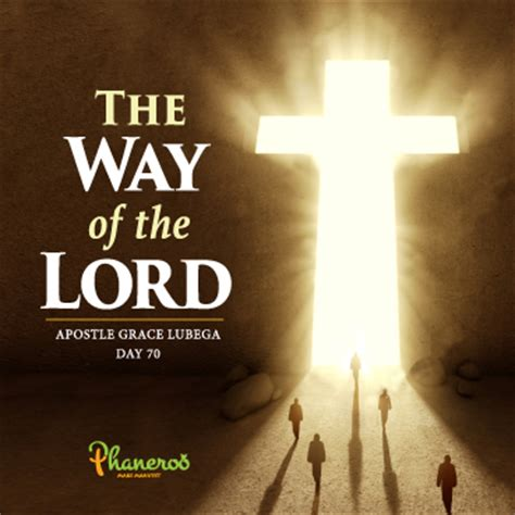 the way of the the way of the lord
