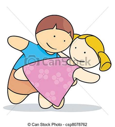 imagenes de niños jugando y bailando ilustraciones de vectores de baile oto 241 o en amor con