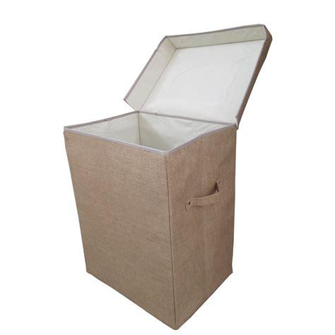 Foldable Laundry Buyhessian Folding Laundry Basket Box From The Basket Company