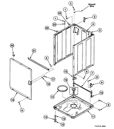 speed washer parts diagram cabinet diagram parts list for model swtt21wn speed