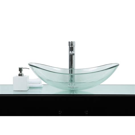 basin sink large glass oval wash basin sink free waste rooms