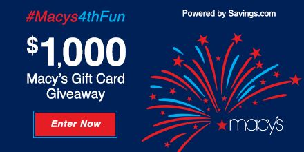 Check Macys Gift Card - mom knows best the macy s 4th of july sale 1 000 giveaway macys4thfun