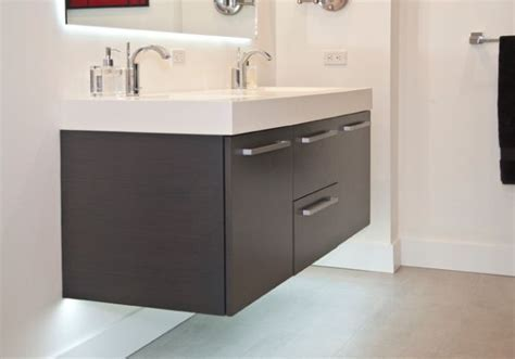 27 Floating Sink Cabinets and Bathroom Vanity Ideas