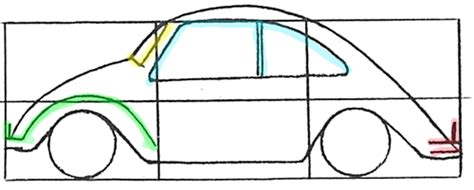 punch buggy car drawing cars easy drawing at getdrawings com free for personal