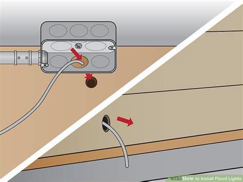 how to install flood lights installing flood lights decoratingspecial com