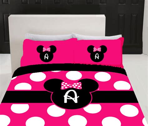 minnie mouse bed linen minnie mouse bed rooms personalized pink minnie