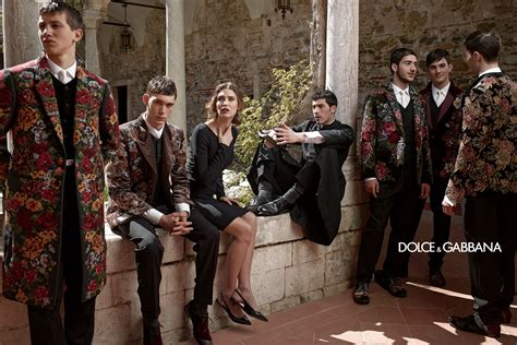 dolce and gabbano dolce and gabbana winter 2014 via comeintoland