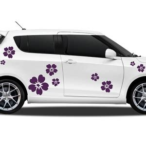 Suzuki Heckscheibenaufkleber by Autoaufkleber Blumen Blumenaufkleber F 252 Rs Auto