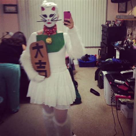 Costume Neko Cat maneki neko costume