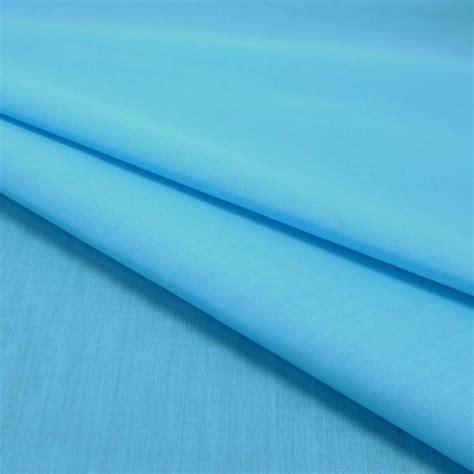 Plain Polycotton 1 plain polycotton fabric 112cm width turquoise 1 metre