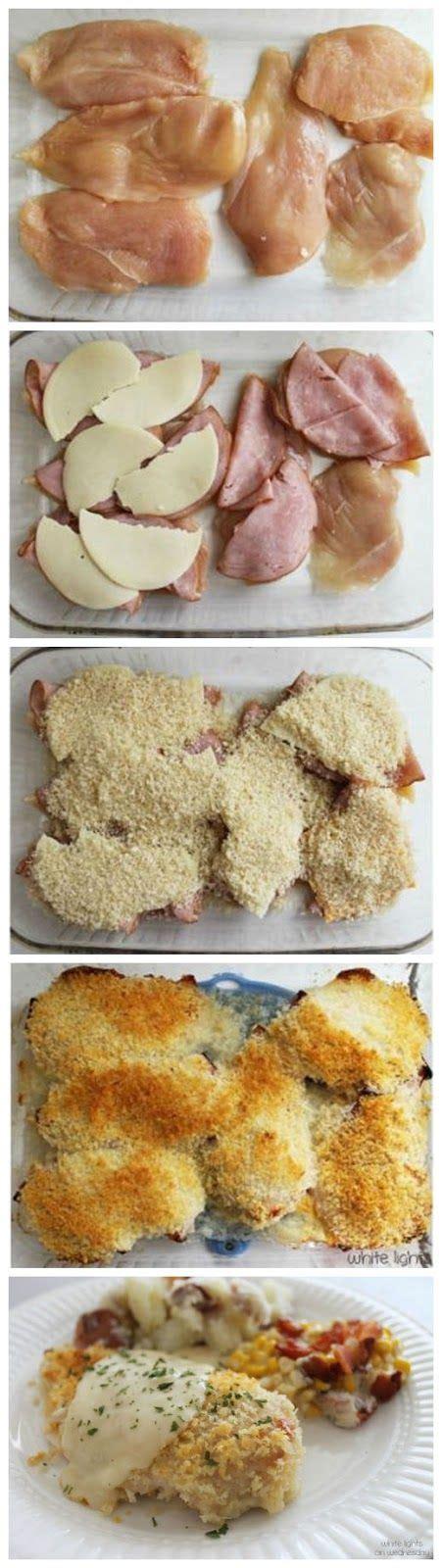 ham and chicken recipes best 25 chicken cordon bleu ideas on pinterest cordon
