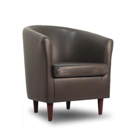 designer sofas 4 you leather bucket tub chair dark brown