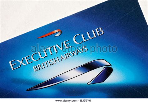 British Airways Gift Card - loyalty card stock photos loyalty card stock images alamy