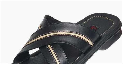 Sandal Flat Casual Pria Kulit Asli Sl 023 Prima Leather model sepatu dan sendal sandal kulit asli