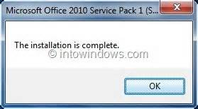 Office 2010 Service Pack by How To Slipstream Office 2010 Sp1