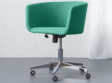 Office Chair Cool Modern Office Guest Chairs Fabric Upholstered Swivel Desk Chair