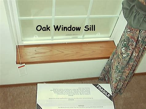 Oak Window Sill Upgrades Options Factory Expo Home Centers