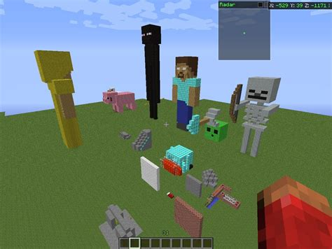 tutorial video minecraft statue tutorials minecraft project