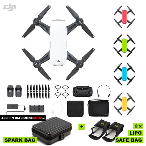 Special Dji Spark More Fly Combo Spark Combo Blue droneshop nl dji spark fly more combo in verschillende