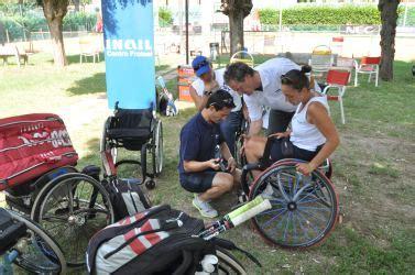 sede inail bologna tornano a forl 236 i cioni delle racchette paralimpiche