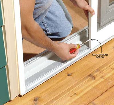 How To Fix A Patio Door Gap At Bottom Of Upvc Double Patio Door How To Fix