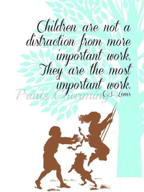 cs lewis biography for students children are not a distraction from more important work