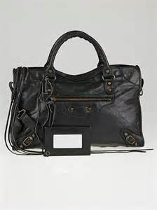 Aguileras Balenciaga Motorcycle Bag by Balenciaga Black Chevre Leather Motorcycle City Bag
