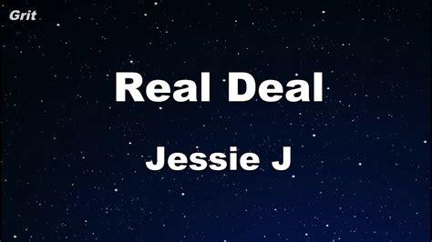 jessie j karaoke real deal jessie j karaoke no guide melody