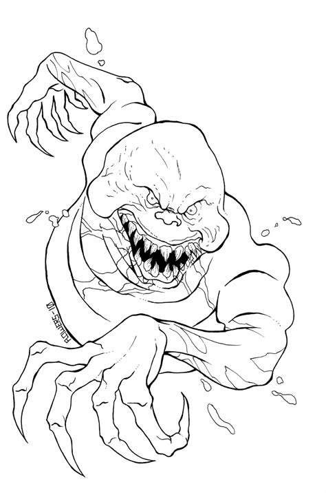 monster halloween coloring pages coloring pages