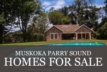 Cottages For Sale Parry Sound Georgian Bay by Muskoka Parry Sound Real Estate Cottages Homes Waterfront Property For Sale