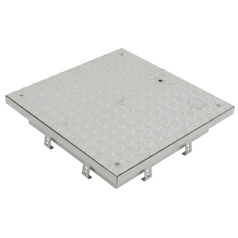 stainless steel access manhole cover 300mm x 300mm plated